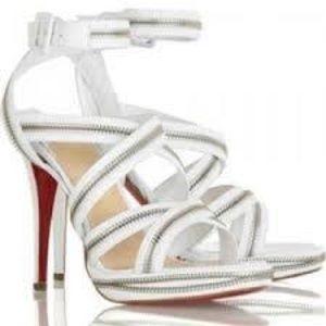 Authentic Christian Louboutin Zipper Sandal